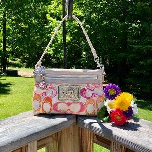 COACH Poppy small Handbag. So Beautiful!!